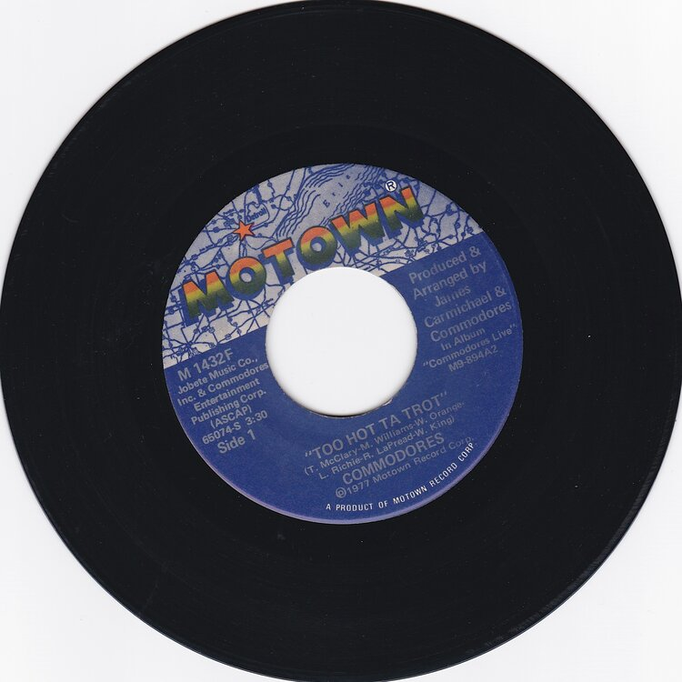 Commodores - Too Hot  £10.jpg
