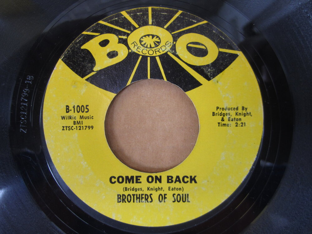 Brothers Of Soul - come on back BOO.JPG