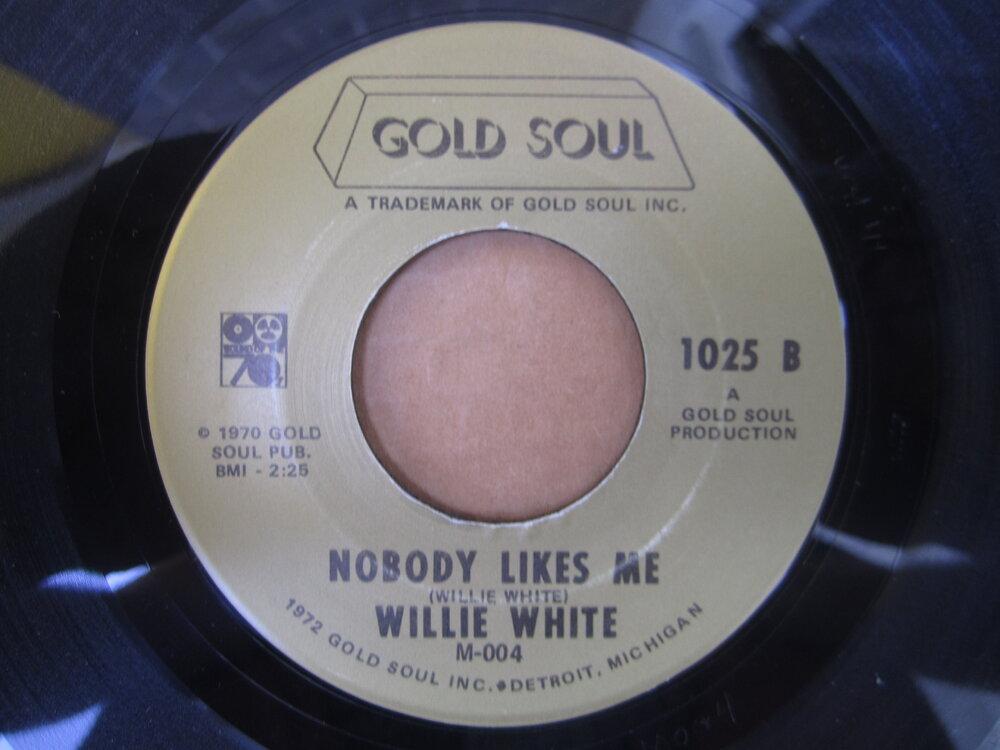 Willie White - nobody likes me.JPG
