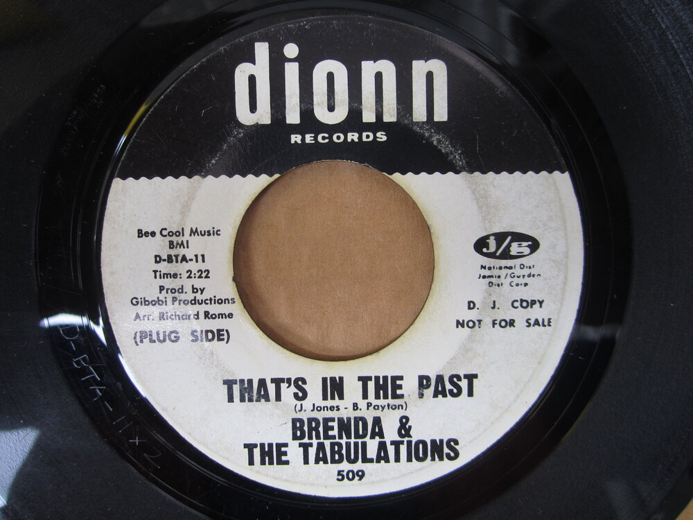 Brenda & the tabulations - that's in the past.JPG