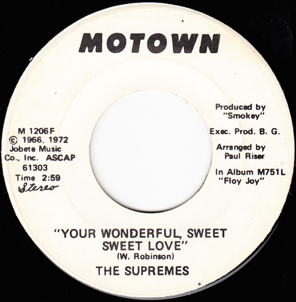 Supremes - Your wonderful.jpg