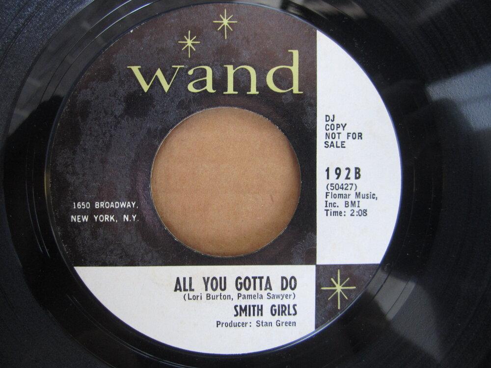 Smith Girls - all you gotta do WAND.JPG