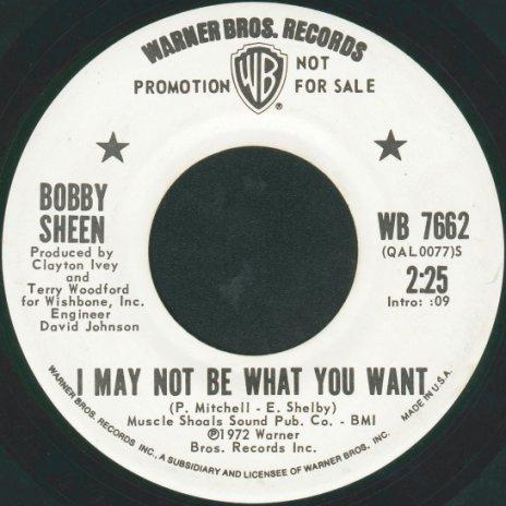 Bobby Sheen Something New To Do