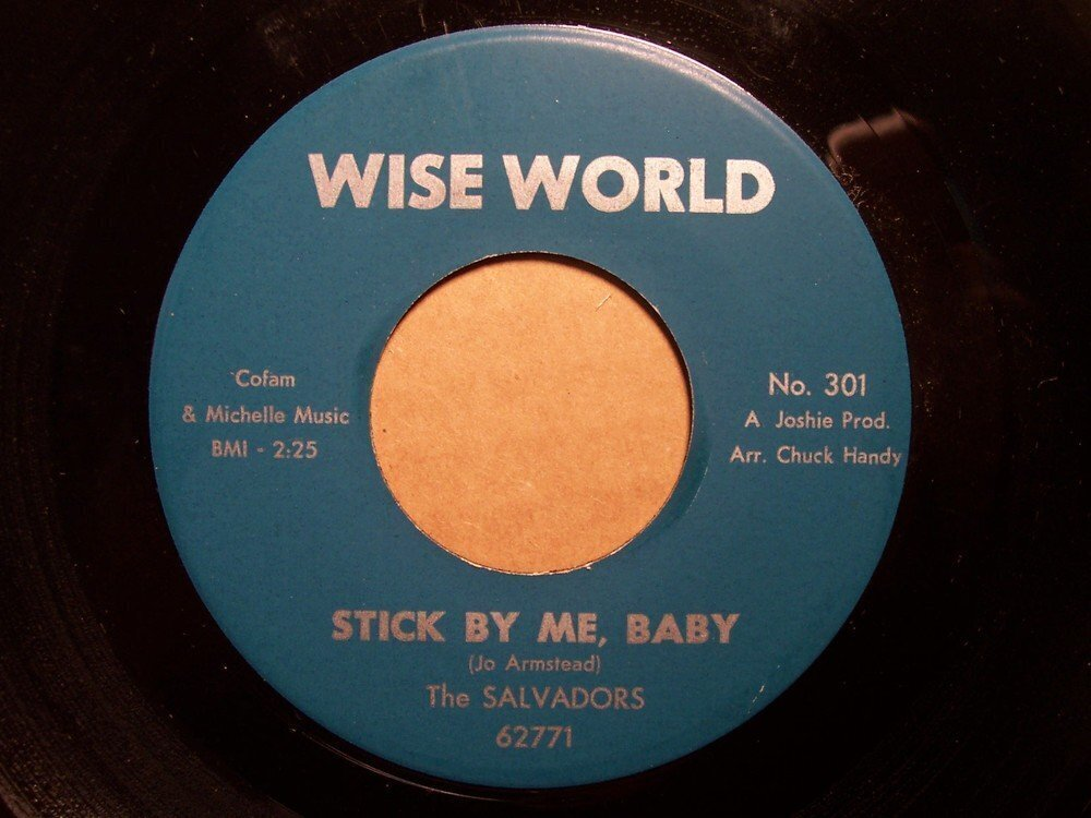 Salvadors Quot Stick By Me Baby Quot On Wise World For Sale