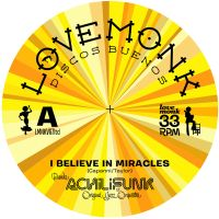 Banda Achilifunk & OJO  - I Believe In Miracles - Limited Edition Yellow Vinyl - Lovemonk image