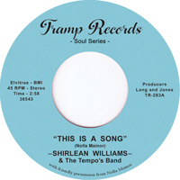 Shirlean Williams & Tempo's Band - This Is A Song - Tramp Records  image
