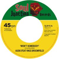 Audio (feat Vince Broomfield) - Won't Somebody - Soul Junction image