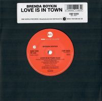 Brenda Boykin - Love Is In Town - One World Records image