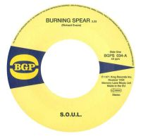 SOUL - Burning Spear / Do Whatever You Want To Do - BGP  image