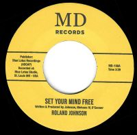 Roland Johnson - Set Your Mind Free - MD Records image