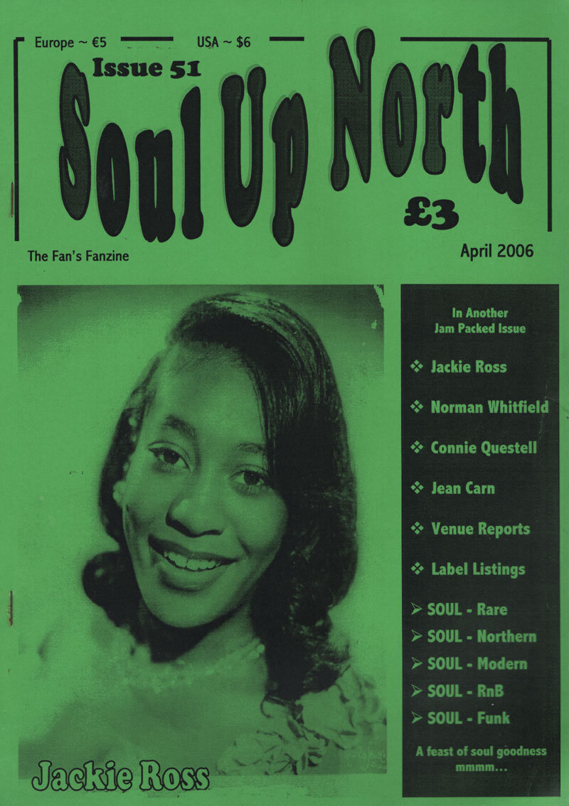 Soul Up North #51 April 2006